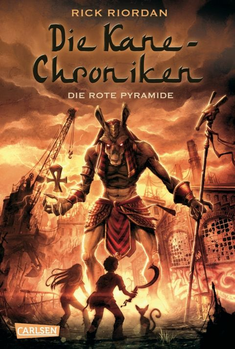 Apophis Kane Chronicles | Deutsches Cover