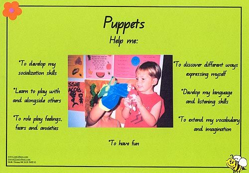 Puppets - Developmental Poster