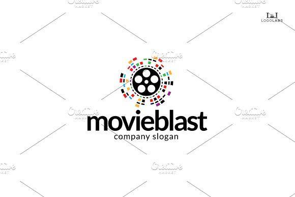 Movie Blast Logo by LogoLabs on @creativemarket