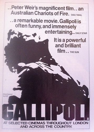 Peter Weir's Gallipoli Movie Newspaper ads