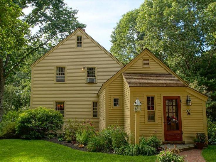 Saltbox home salt box homes pinterest a bug for Saltbox style house plans