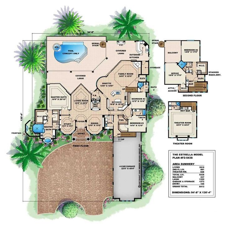 66 best houses images on pinterest | home plans, dream house plans