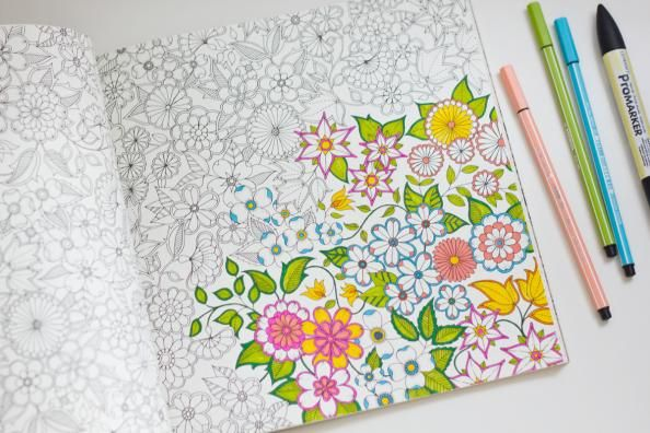 5 Reasons Coloring Should Be Your New Hobby   InStyle.com Adult coloring books are all the rage, seriously.