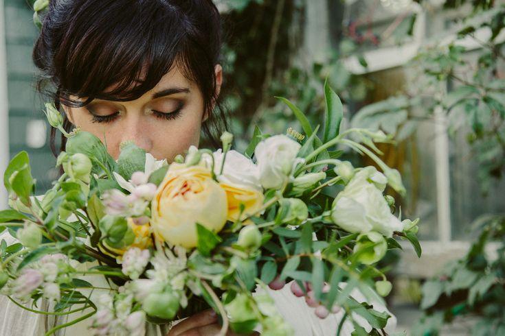 Floralia: Wedding bouquet, Montreal, seasonal, local, wild, natural, DIY, organic, flowers