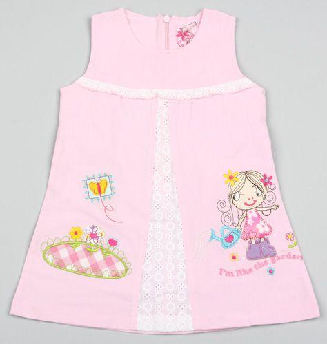 Сарафан Bone Kids, цвет: розовый
