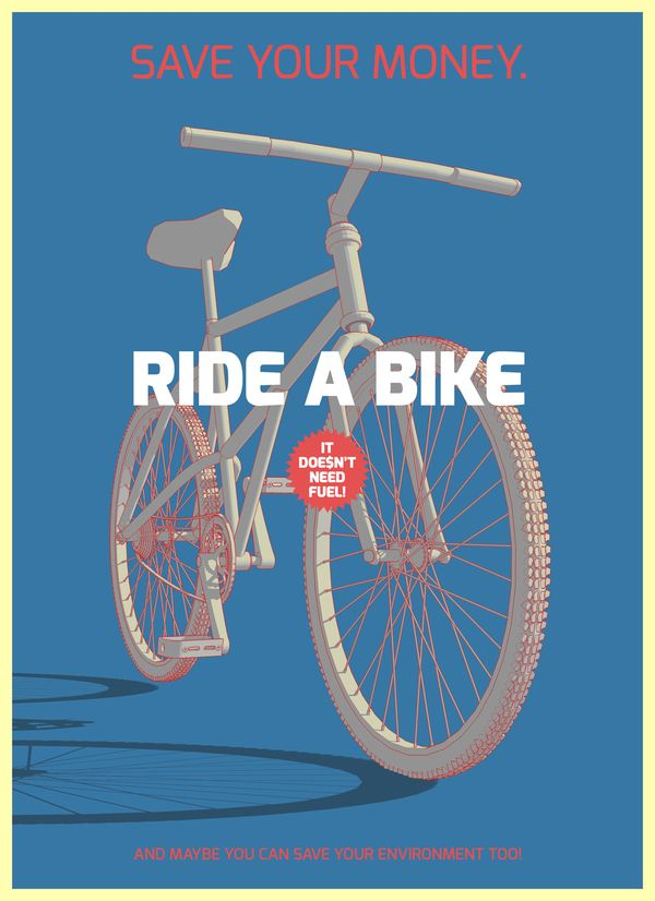 Save your moneyBicycles, 215 水彩腳踏車, Saving Money, Posters Design, Graphics Design, Get Fit, Visual Art, Riding A Bikes, Riccardo Sabatini