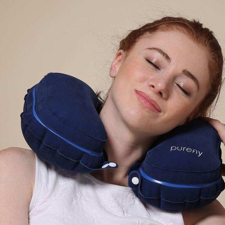 purefly travel pillow u0026 neck pillow