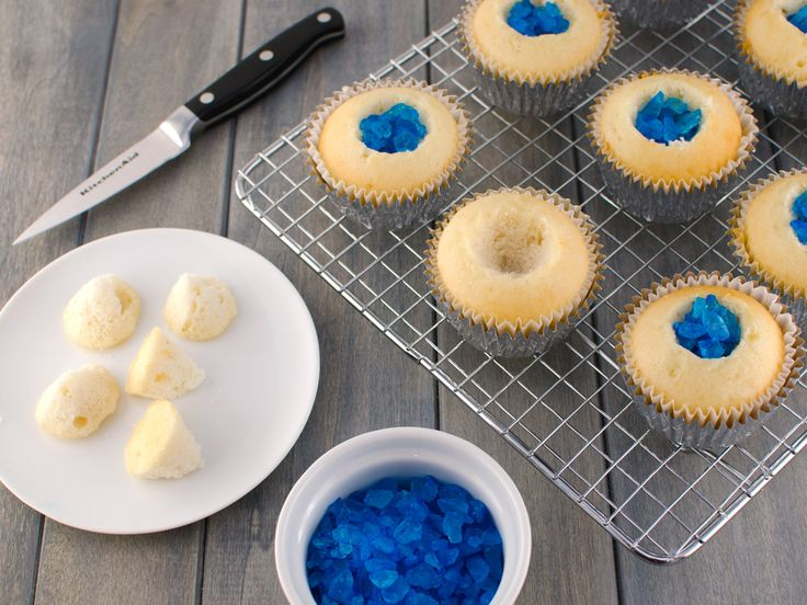 breaking bad cupcakes cutting holes
