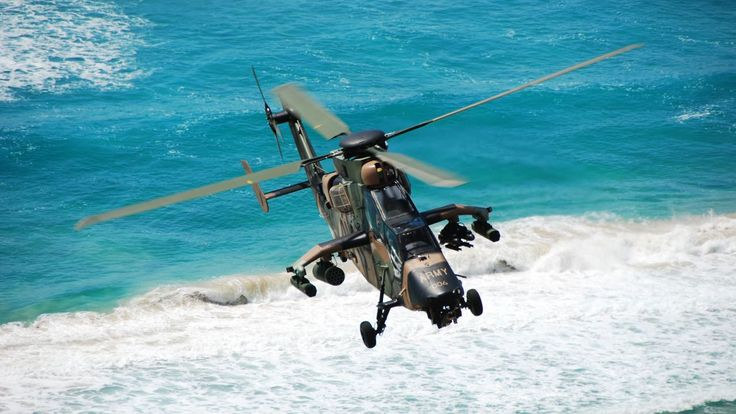 Eurocopter Tiger, attack helicopter, French Air Force, Australian Air Force, German Air Force (horizontal)