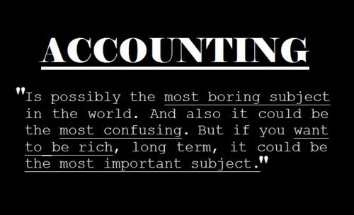 I love accounting, let me do your books! ~Wendy Cassera