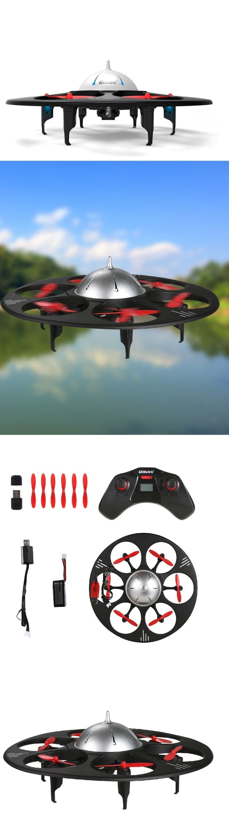 RC UFO Flying Saucer With HD Video Camera #quadcopter