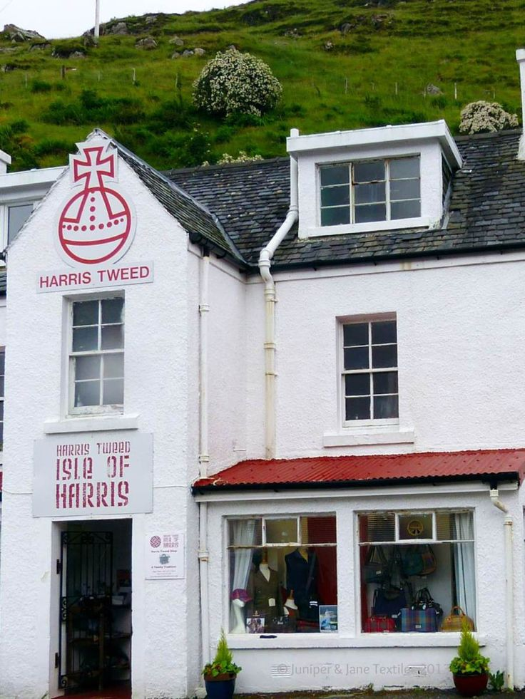 Harris Tweed, Isle of Harris, Outer Hebrides- I love Harris Tweed. It is a beautiful material of excellent quality.