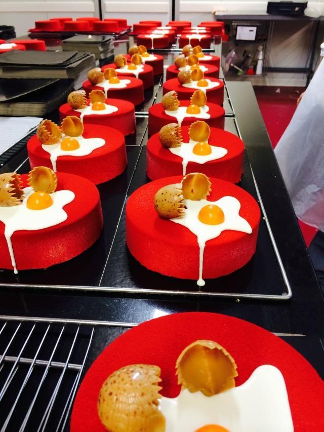Gâteaux de Pâques à perte de vue...