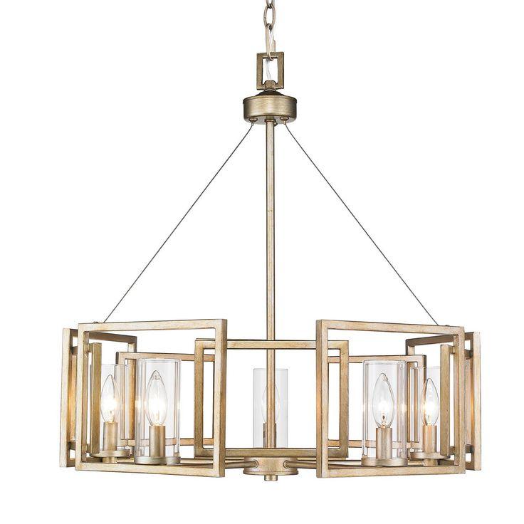 millie 5 light chandelier
