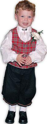 Norwegian Traditional Costume - Boy