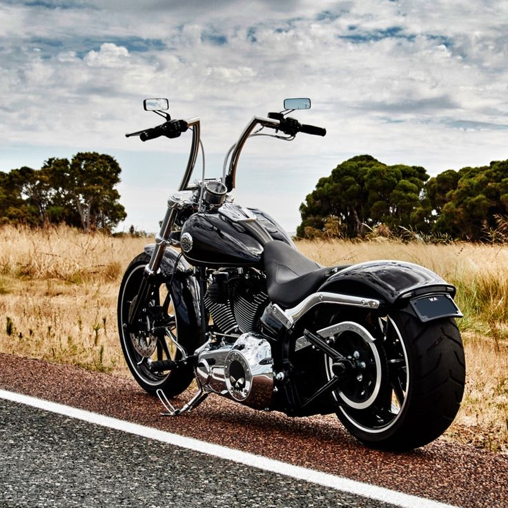 """Harley Davidson Breakout with High Ball 14"""" Apes"""