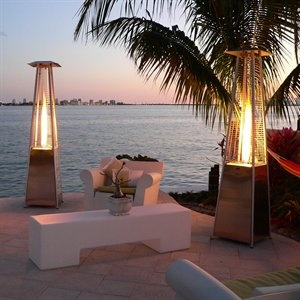 Awesome deck heaters...