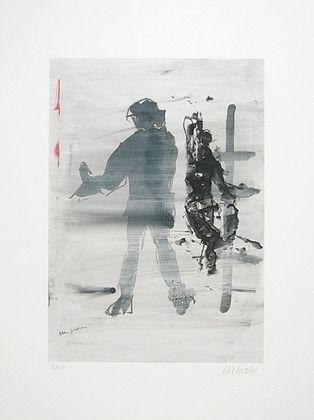 Armin-Mueller-Stahl-Michael-Jackson-Kunst-Grafik-Bild-Lithographie-handsigniert