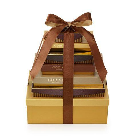 Ultimate Chocolate Gift Tower | Godiva