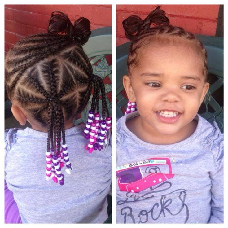 Outstanding 1000 Images About Little Black Girls Hair On Pinterest Black Short Hairstyles Gunalazisus