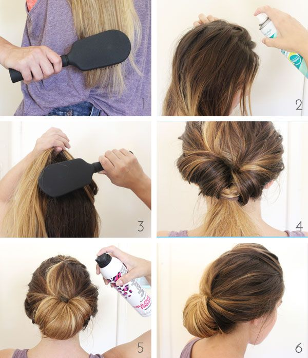 Beauty School The Last Minute Chignon Back To Last Minute And Chignons
