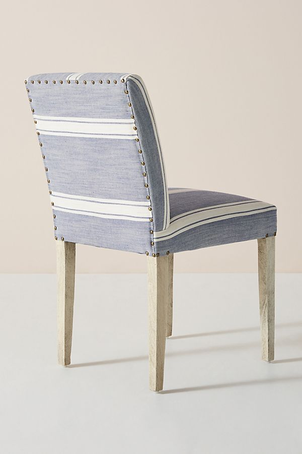 Boro Stripe Seneca Dining Chair Dining Chairs Striped Dining