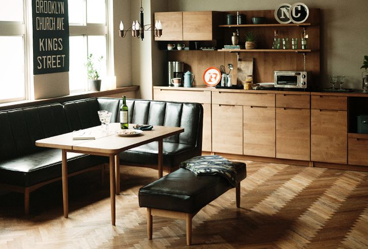WYTHE(ワイス) ベンチ アーム | ≪unico≫オンラインショップ:家具/インテリア/ソファ/ラグ等の販売。