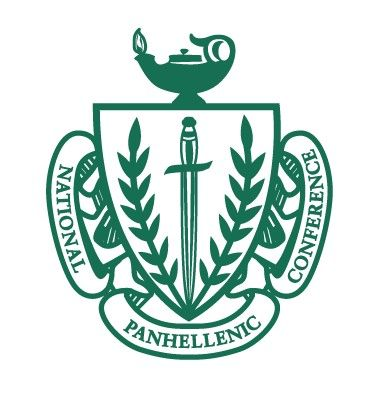 Only the best wear this crest. National Panhellenic Council