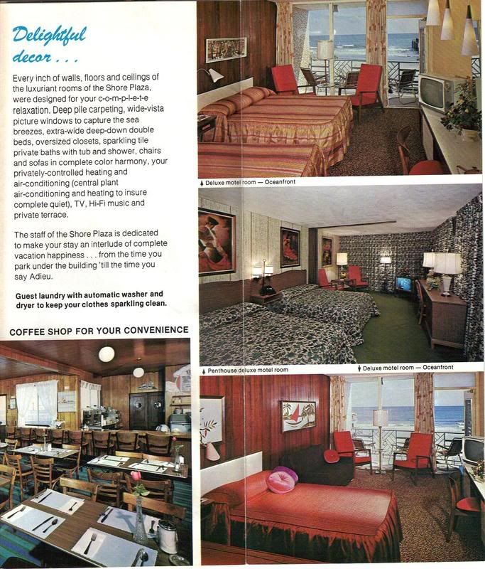 Shore Plaza Motel Wildwood NJ More Typical Rooms The Rooftop Cafe A