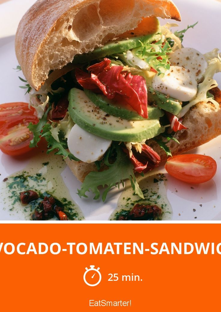 Avocado-Tomaten-Sandwich