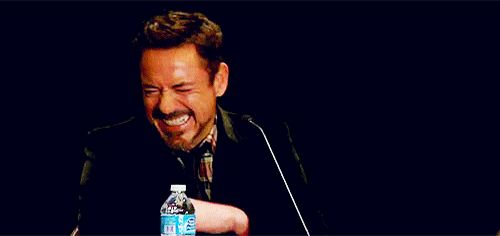 (gif) His laugh literally is the bet thing ever.