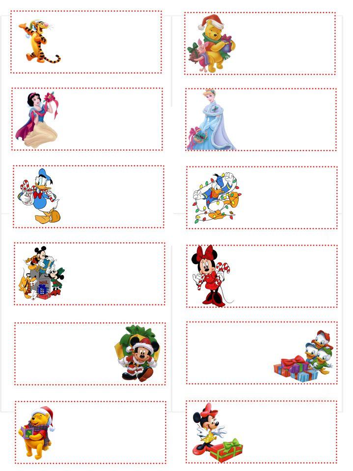 Blank Christmas Gift Tags Christmas FREE Printables Christmas