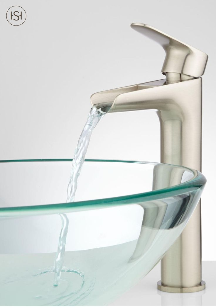 Enhance the atmosphere of your bathroom with a vessel sink faucet. The smooth spout will awaken happiness in your home. Pair with a glass bowl sink for a sophisticated feel.