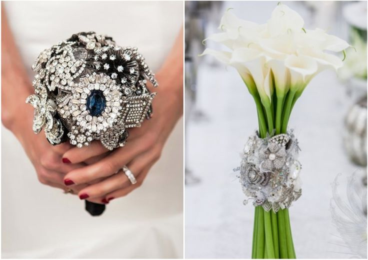 wedding bouquets with bling 184 best images about wedding bouquet bling on 8537