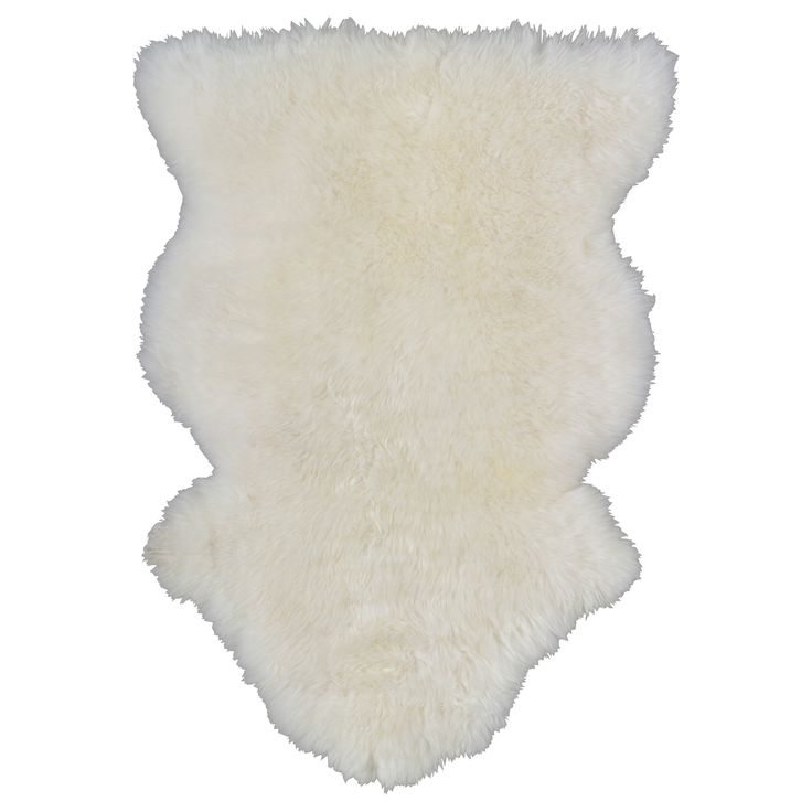 RENS Sheepskin - IKEA  add this to sofa to add warmth without color and texture without pattern says Oprah