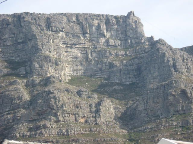 Close-up of Table Mountain  http://westerncapetravels.weebly.com/
