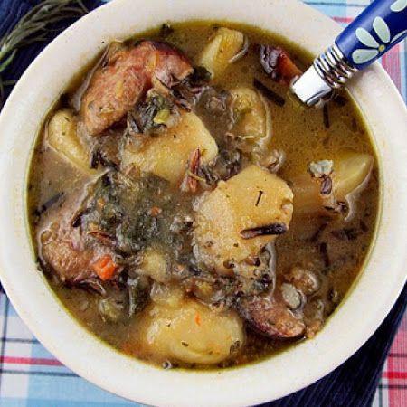 Wild Rice, Potato & Sausage Soup