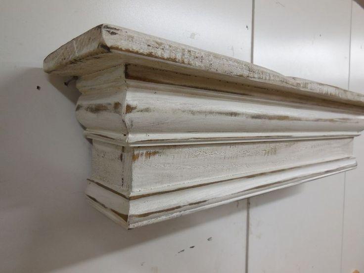 Mantel shelf, French Country Mantle Shelf, Primitive Mantel shelf, 60 inches #NaivePrimitive