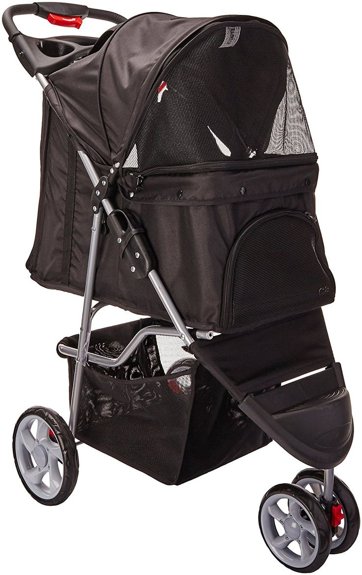 OxGord® Pet Stroller Cat / Dog Easy Walk Folding Travel Carrier Carriage - 2016 Newly Designed -- Review more details here : Dog strollers