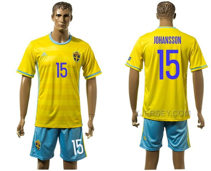 http://www.xjersey.com/sweden-15-johansson-home-euro-2016-jersey.html SWEDEN 15 JOHANSSON HOME EURO 2016 JERSEY Only 33.11€ , Free Shipping!