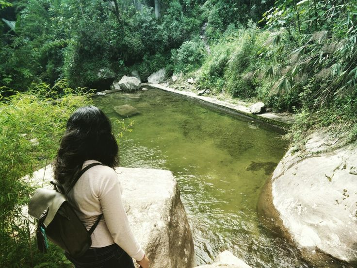 Natural Pool at the end of waterfalls where one can get refreshed by taking a dip in the same