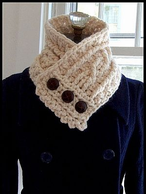 crochet pattern - fisherman's wife cowl