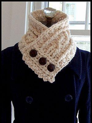 crochet pattern - fisherman's wife cowl