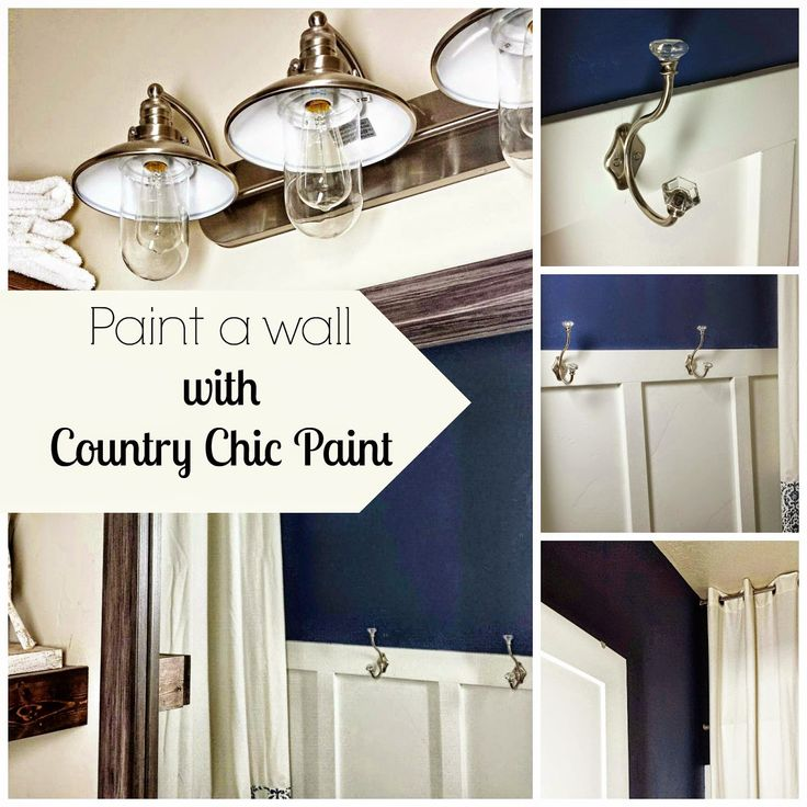 Bathroom Wall Makeover Guest Post Paint Ideas Country
