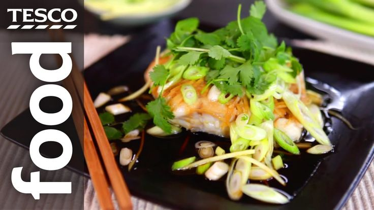 How to Make Chinese Steamed Fish with Ken Hom | Tesco Food - YouTube