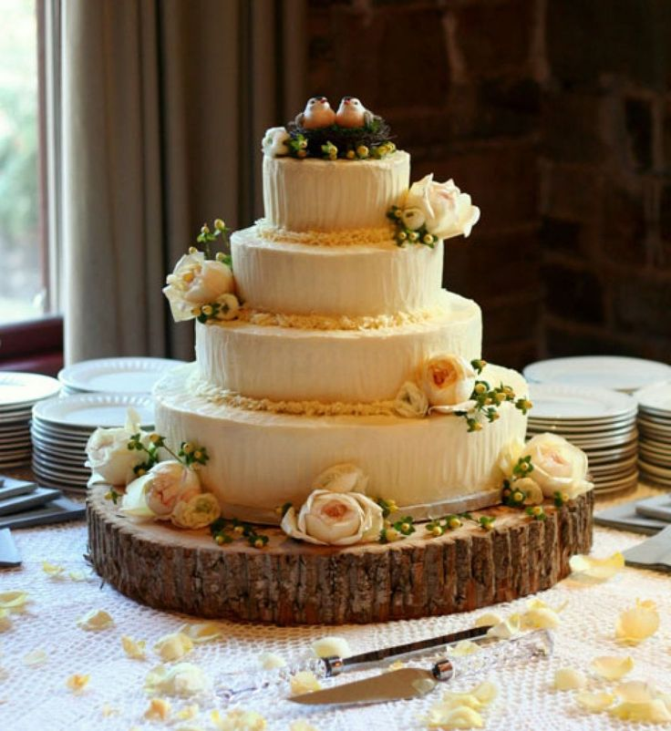 Rustic Wedding Cake Designs Gallery Picture