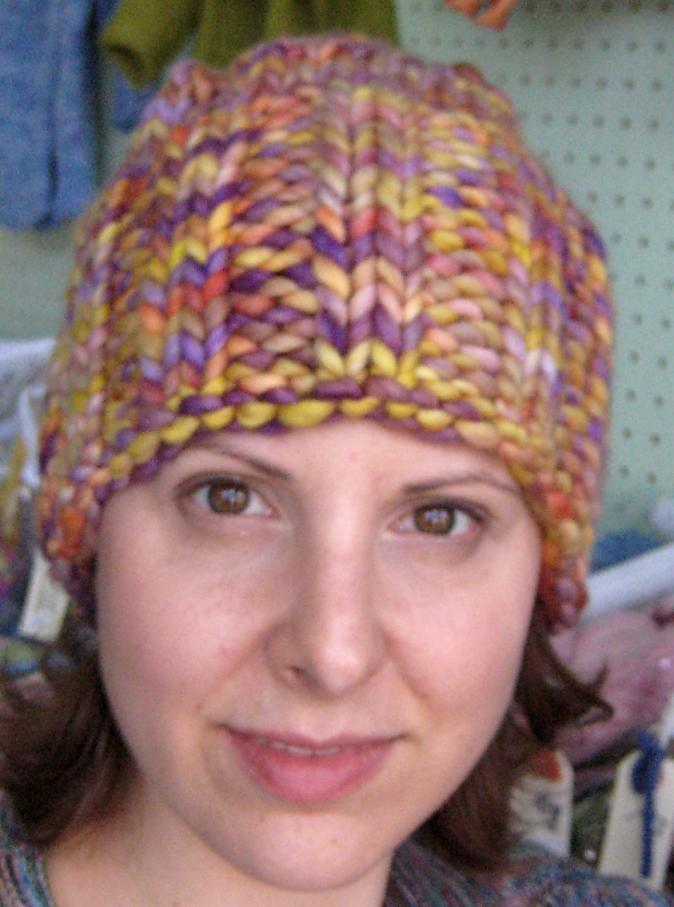 malabrigo rasta cowl pattern   Display Hats: Malabrigo Rasta