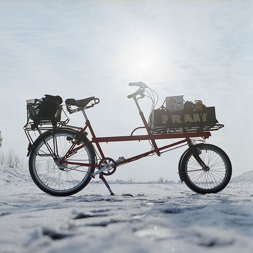 Kemper Filibus transport bike  in winter mode