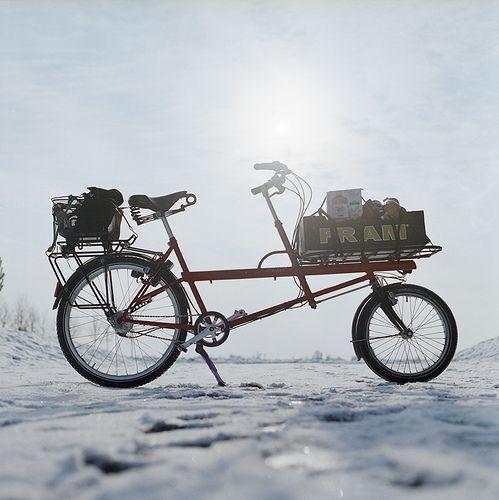 Kemper Filibus transport bike  in winter mode