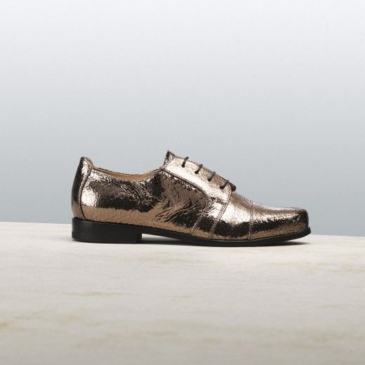 BRONZE TRICK #altiebassi #musttohave #fallwinter1516 #sophisticated #italianshoes #woman #laceup